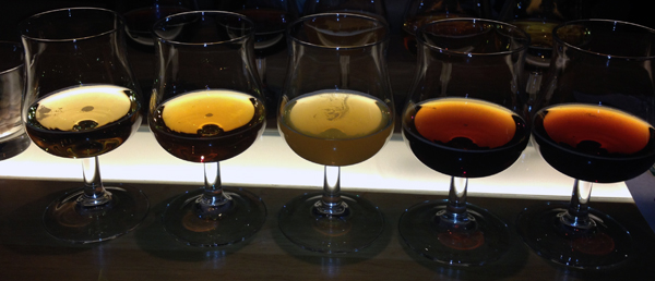 Our $20 a person beer tasting on board