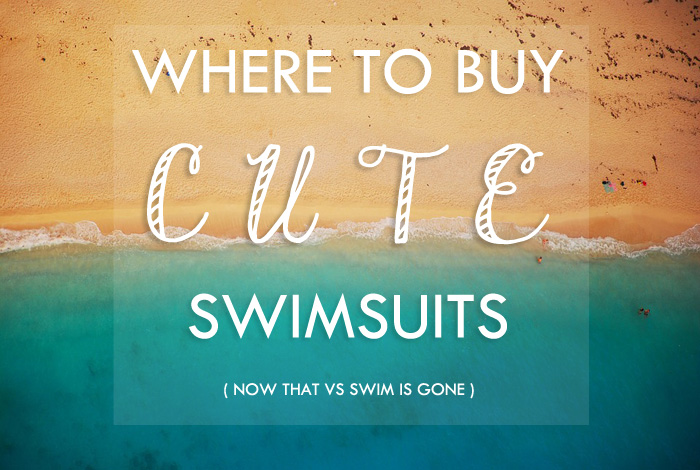Where to Buy Swimsuits... now that Victoria's Secret Swim is Gone via SeekingSunshine.com
