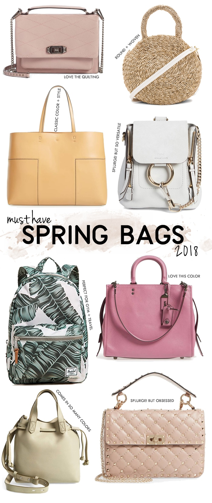Must Have Wedding Poses: Must-Have Spring Bags 2018
